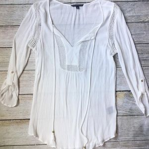 Boho Tassel Blouse by Signature Studio